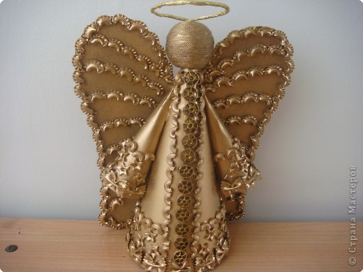 Рождественские поделки своими руками ангелочки