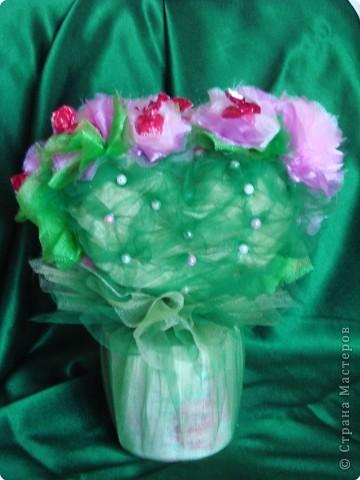 Валентинка из конфет-сердечное поздравление с праздником:)) фото 3