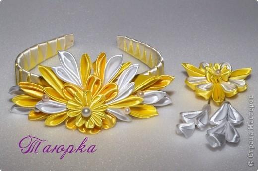 Украшение Цумами Канзаши Канзаши - волшебные цветочки Ленты