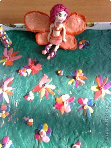 Лепка: Цветочная фея