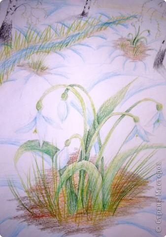 Рисование и живопись: В ожидании весны