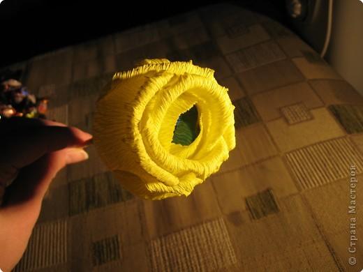 Я хочу рассказать вам как делать некоторые цветы из конфет. фото 26