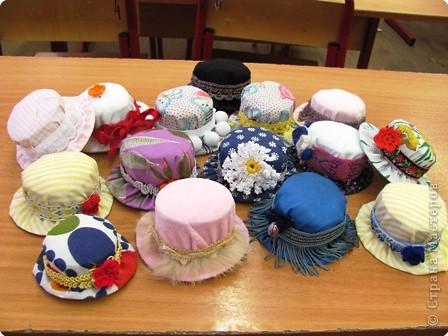 Фото шляпки своими руками