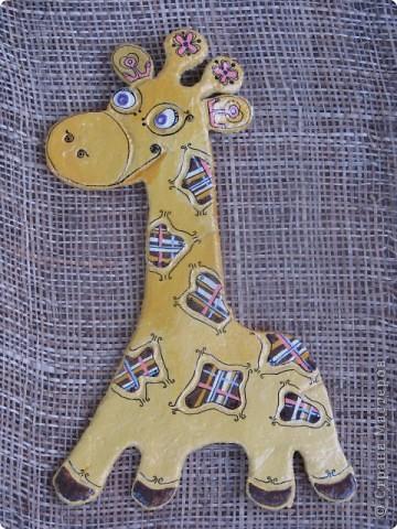 Роспись: жирафочка
