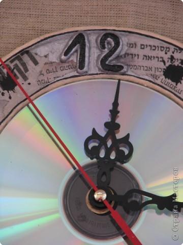...а вот и часики... СД диск фото 3