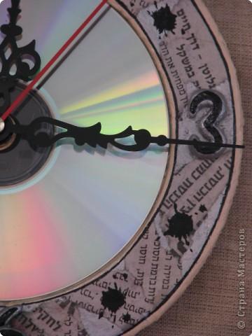 ...а вот и часики... СД диск фото 2