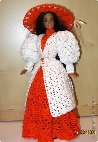 Вязание крючком Платье для