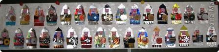 Поделки по книгам сайта 23 февраля Коллаж Поделки к 23 февраля Богатыри Бумага Ткань Фантики фото 8
