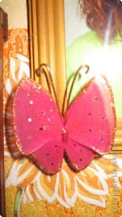 Мастер-класс МК Бабочки Капрон фото 23