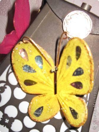 Мастер-класс МК Бабочки Капрон фото 20
