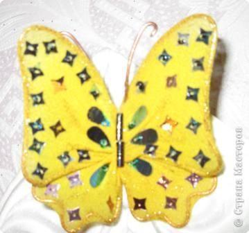 Мастер-класс МК Бабочки Капрон фото 22