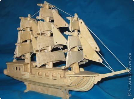 Корабль Фанера фото 1