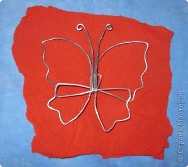 Мастер-класс МК Бабочки Капрон фото 11
