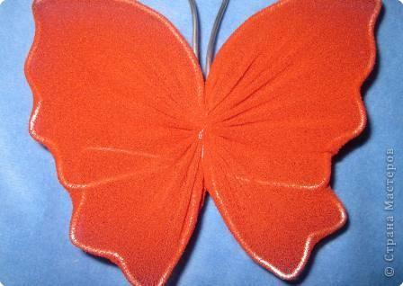 Мастер-класс МК Бабочки Капрон фото 17