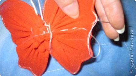 Мастер-класс МК Бабочки Капрон фото 18