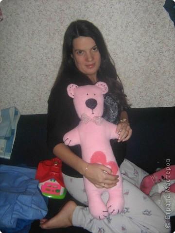 Мишка гигант для любимой подружки!!!!!