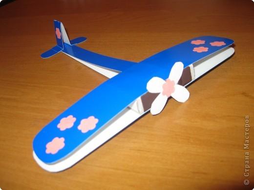 Такие самолётики делали с первоклашками. фото 1