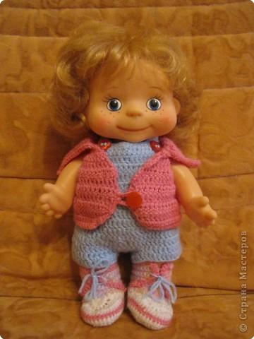 Вязание крючком: Одёжка для Лялечки =) фото 1