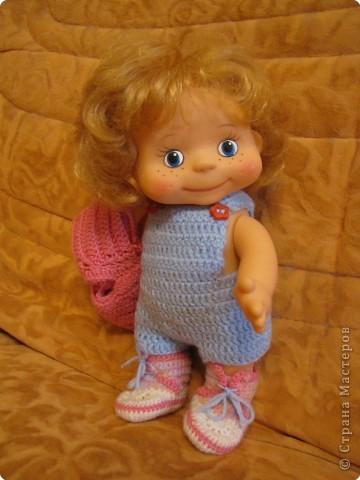 Вязание крючком: Одёжка для Лялечки =) фото 3