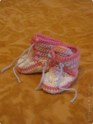 Вязание крючком: Одёжка для Лялечки =) фото 4