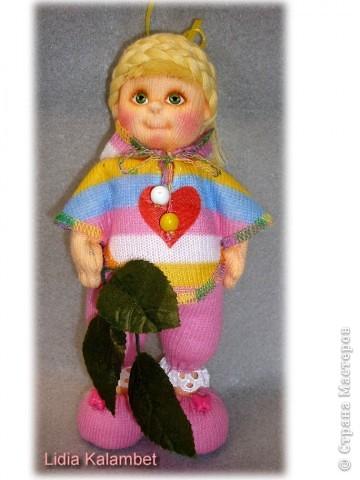 Я матрос, хоть и не дорос. Текстильная кукла. Рост 25 см фото 4