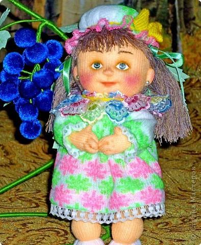 Я матрос, хоть и не дорос. Текстильная кукла. Рост 25 см фото 14