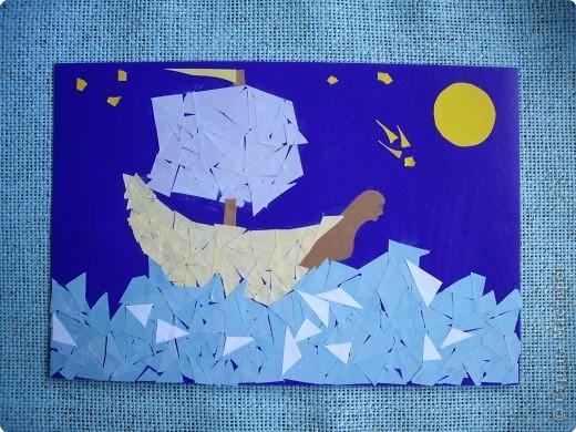 """""""...Если хочешь построить корабль, то не собирай своих людей для  того, чтобы достать лес, подготовить инструменты и распределить   работу, а научи их тосковать по бесконечным морским просторам...""""  Антуан Сент-Экзюпери  Юдакова Александра фото 2"""