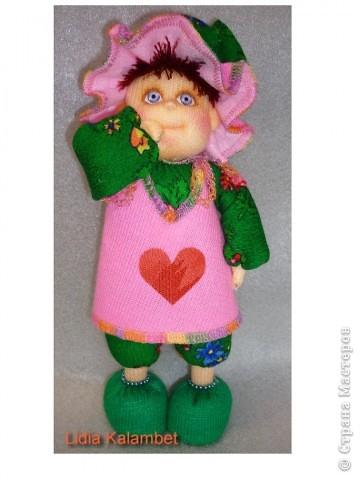 Я матрос, хоть и не дорос. Текстильная кукла. Рост 25 см фото 5