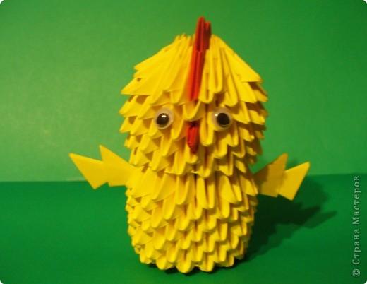 Оригами китайское модульное А