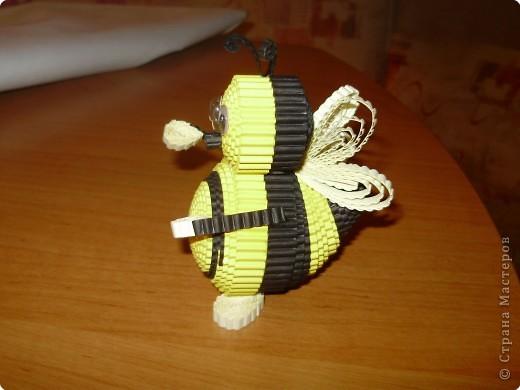 Квиллинг: Пчелка
