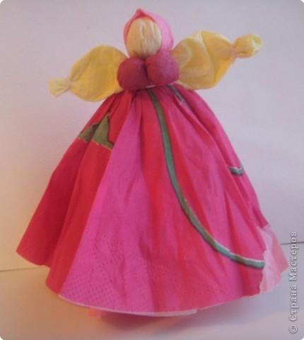 Как из салфетки сделать куклу 367
