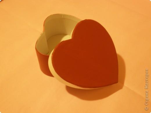 Вот такую коробочку захотелось сделать ко дню влюблённых. Расскажу как делала. Возможно кому-то, что-то, да и понадобится. фото 3