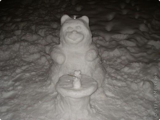 Лепка: Снежный мишутка