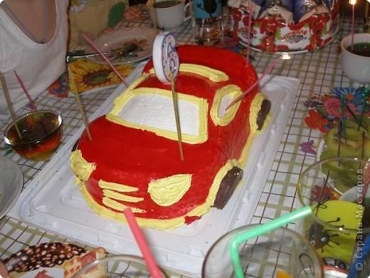 Сделала вот такой вот тортик из конфет на день рождения Никиты по МК Гайдаенко Елены. Спасибо за идею! Дети были в восторге! фото 7