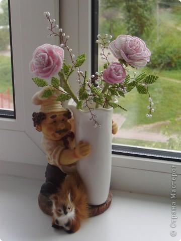 """Бисероплетение: Букет """"Роз"""""""