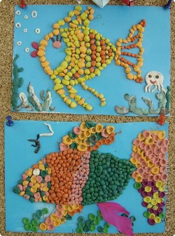 Охраняет подводный мир Водяной, сделанный учениками 4 класса. фото 5