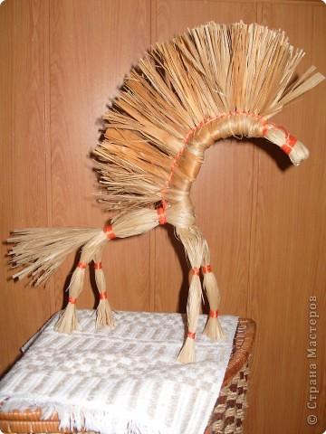 Мастер-класс Масленица Плетение Конь златогривый МК Нитки фото 15