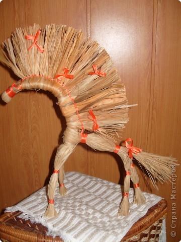 Мастер-класс Масленица Плетение Конь златогривый МК Нитки фото 1