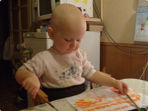 Стала я учиться рисовать акварельными красками. Столько нового для себя узнала..... фото 8