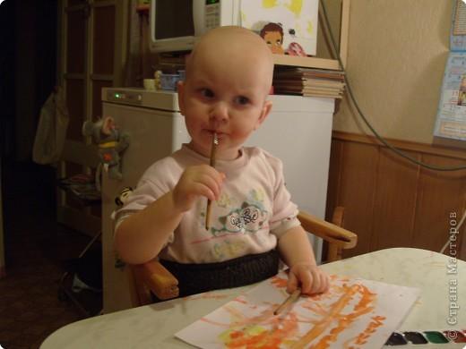 Стала я учиться рисовать акварельными красками. Столько нового для себя узнала..... фото 3