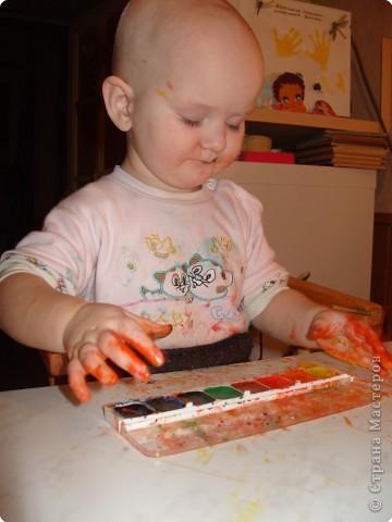 Стала я учиться рисовать акварельными красками. Столько нового для себя узнала..... фото 4