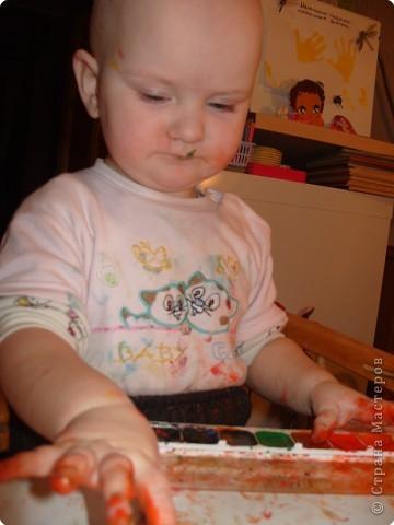 Стала я учиться рисовать акварельными красками. Столько нового для себя узнала..... фото 5