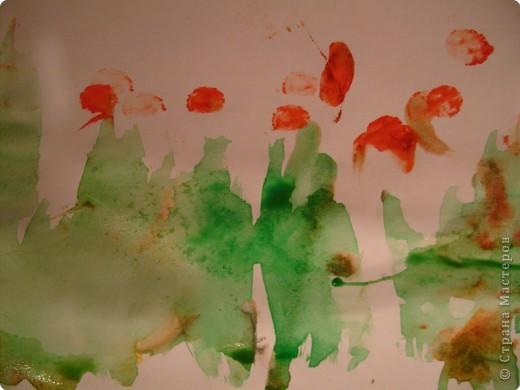 Стала я учиться рисовать акварельными красками. Столько нового для себя узнала..... фото 1