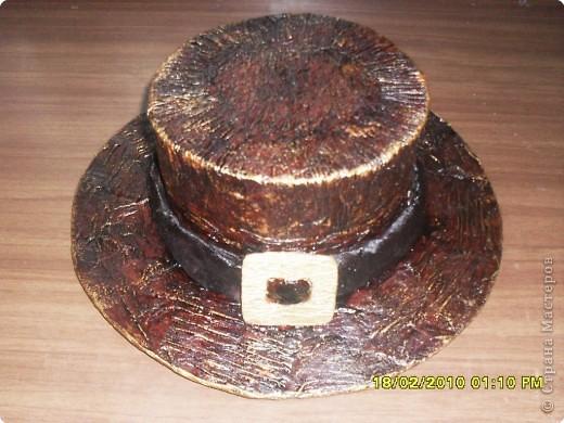 Как сделать шляпу папье маше