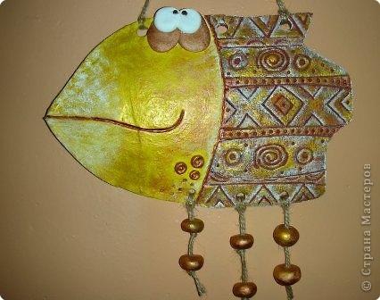 Мастер-класс Лепка Рыбы Небольшой МК по покраске Тесто соленое фото 1