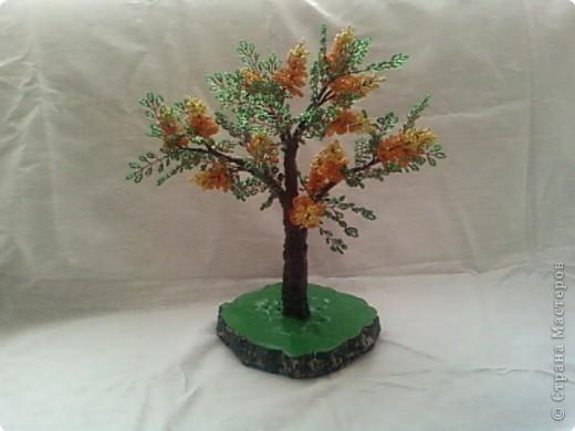 Бисероплетение: дерево