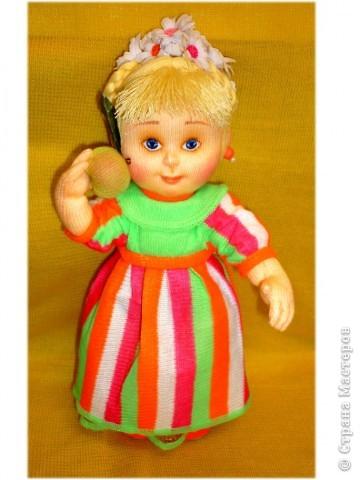 Я матрос, хоть и не дорос. Текстильная кукла. Рост 25 см фото 3