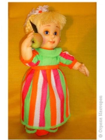 Я матрос, хоть и не дорос. Текстильная кукла. Рост 25 см фото 2