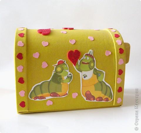 Почтовый ящик для валентинок и валентинки в детский сад. фото 3