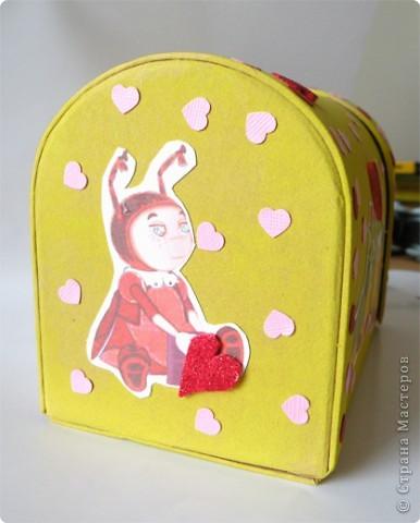 Почтовый ящик для валентинок и валентинки в детский сад. фото 4